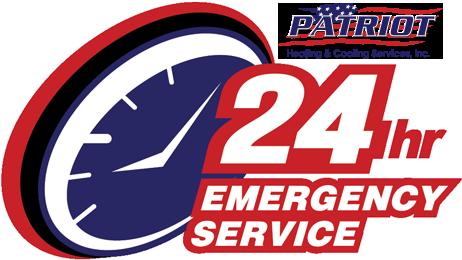 Patriot HVAC 24 Hour Emergency Service